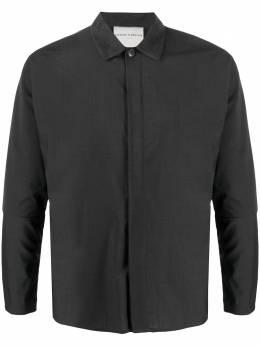 Stephan Schneider рубашка Comma с заостренным воротником AW2004