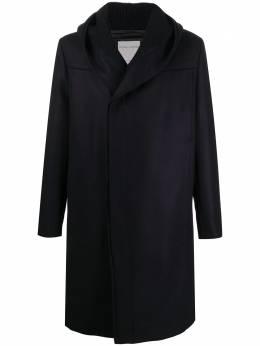 Stephan Schneider двубортное пальто с капюшоном AW2009
