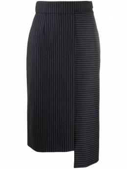 Lorena Antoniazzi юбка в тонкую полоску A2041GO0103259