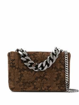 Casadei сумка с цветочным кружевом 3W262R0000B0144