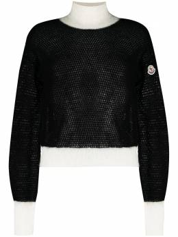 Moncler two-tone knitted jumper F20939F70950A9441