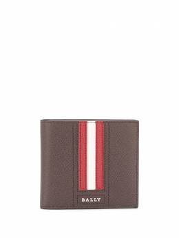 Bally striped billfold wallet 6236532000