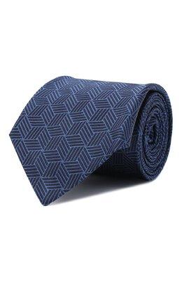 Шелковый галстук Luigi Borrelli LC80-B/TT30282