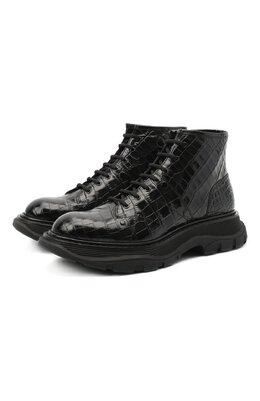 Кожаные ботинки Alexander McQueen 633905/WHYQ1