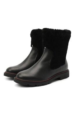 Кожаные ботинки Bally GRADY-FUR/00