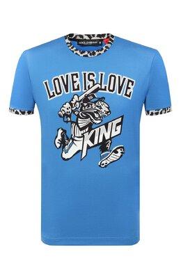 Хлопковая футболка Dolce&Gabbana G8KM6T/HI7A5