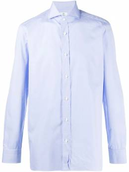 Borrelli рубашка на пуговицах EV1810415