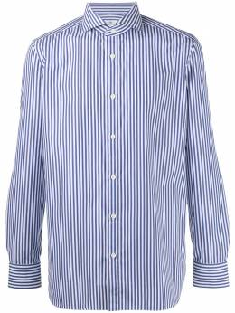 Borrelli полосатая рубашка на пуговицах EV1810504