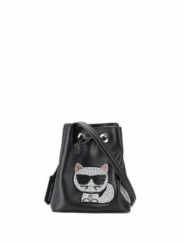 Karl Lagerfeld сумка-ведро K/Choupette 206W3009999