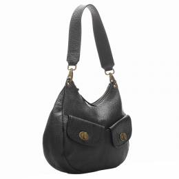 Miu Miu Black Leather Shoulder Bag 327373
