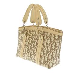 Dior Beige/Brown Oblique Floral Canvas Tote Bag 327206
