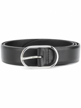Orciani oval-buckle leather belt U07936BALI