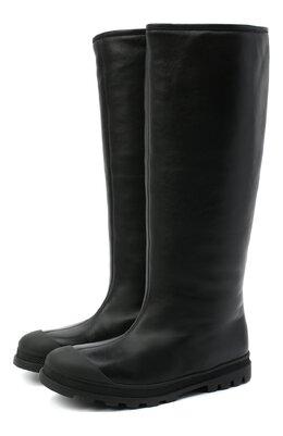 Кожаные сапоги Marni STMS004604/P3387