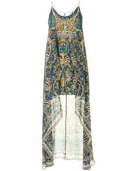 Camilla платье с анималистичным принтом 00005470