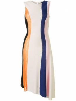 Christian Dior трикотажное платье асимметричного кроя 4C24621AM521