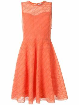 Christian Dior расклешенное платье 4E24621AM567