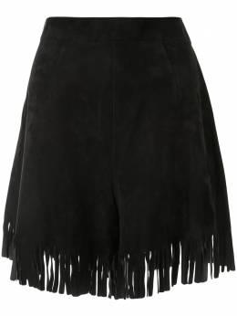 Christian Dior юбка мини с бахромой 8C25475A5030