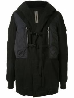 Rick Owens DRKSHDW многослойное пальто DU20F1971TWND