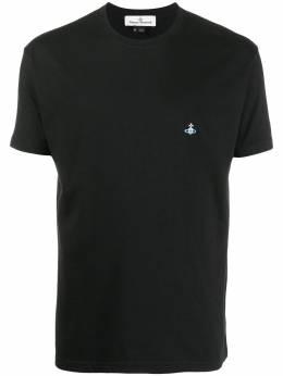 Vivienne Westwood logo embroidered crew neck T-Shirt 3701003521680