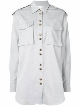 Acler рубашка Parkway с карманами AL200474T