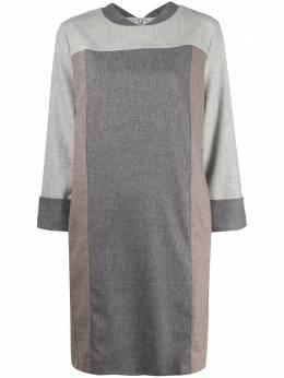 Lorena Antoniazzi платье в стиле колор-блок A2059AB0033273