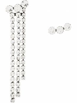 Isabel Marant серьги-подвески с кристаллами BL068220A003B
