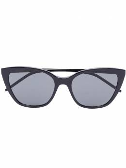 Saint Laurent Eyewear солнцезащитные очки SLM69 в оправе 'кошачий глаз'