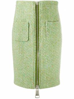 Moschino юбка-карандаш с молнией A01155519