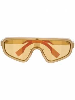 Fendi Eyewear солнцезащитные очки-маска FFM0084S