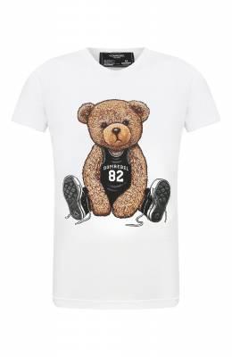 Хлопковая футболка Dom Rebel PLAY/T-SHIRT