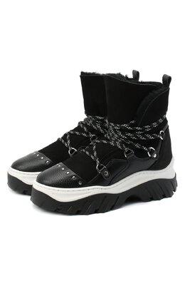 Замшевые ботинки Inuikii 70202-117