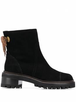 See By Chloe ботинки с завязками SB35061A12120999
