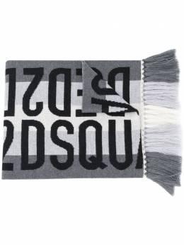 Dsquared2 шарф с жаккардовым логотипом KNM005101W03534