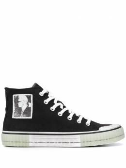 Karl Lagerfeld высокие кеды Kampus Ii Legend Of Karl KLL60251999