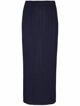 Pleats Please Issey Miyake плиссированная юбка миди PP08JG908