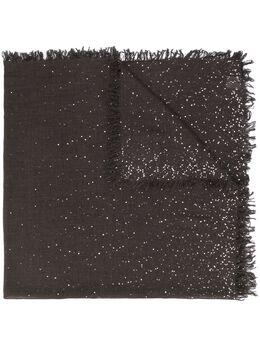 Faliero Sarti вязаный шарф в мелкую точку I210236