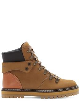 Кожаные Ботинки 20mm See By Chloe 72IL4L007-MDgyMzQ1