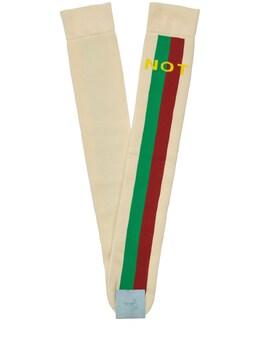 Хлопковые Носки Gucci 72IH0V014-OTI3NQ2