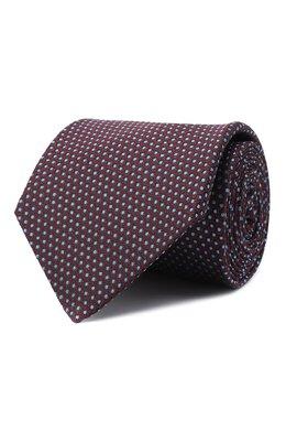 Шелковый галстук Luigi Borrelli LC80-B/TT30281