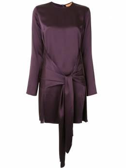 Andamane платье мини с поясом L02A603