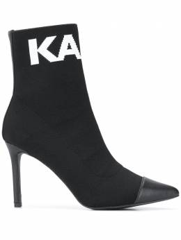 Karl Lagerfeld Pandora knitted ankle boots KLL31361999