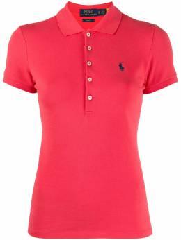 Polo Ralph Lauren приталенная рубашка поло 211505654