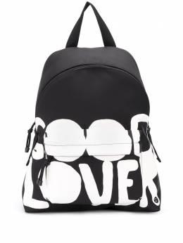 Valentino рюкзак с принтом Lovers Language UY0B0993QYU