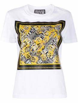 Versace Jeans Couture футболка с принтом Barocco EB2HZA7EBE30311