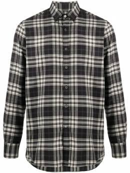 Canali клетчатая рубашка с длинными рукавами L777GL00961