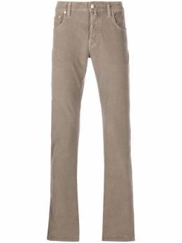 Jacob Cohen вельветовые брюки прямого кроя J688COMF08805V