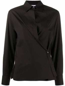 Moschino юбка с запахом J02095531