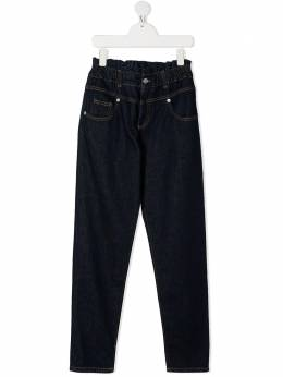 Alberta Ferretti Kids TEEN high waisted jeans 026592T