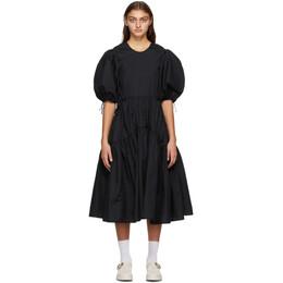 Cecilie Bahnsen Black Libby Dress AW20-0003