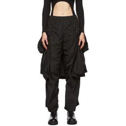 Hyein Seo Black Hoodie Pants FW20 - PT9K